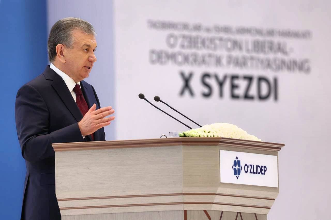 The X congress of the movement of entrepreneurs and businesspeople – the Liberal Democratic Party of Uzbekistan takes place